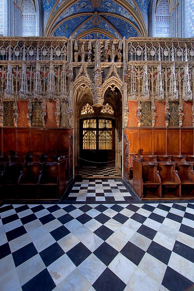 Albi Cathedral of Saint Cecilia Choir Entrance