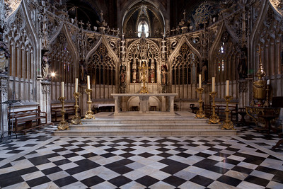 Albi Cathedral of Saint Cecilia High Altar and Choir Screen (16C)