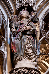 Albi Cathedral of Saint Cecilia  - The Angel Gabriel of the Annunciation (16C)