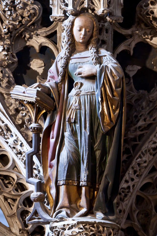 Albi Cathedral of Saint Cecilia  - The Virgin of the Annunciation (16C)