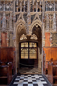 Albi Cathedral of Saint Cecilia Choir Entrance