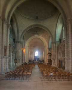 Angouleme Cathedral - Central Aisle