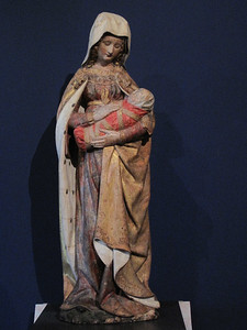 Autun Museum Virgin and Child