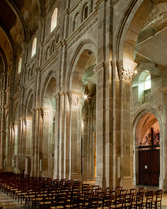 Autun, Saint Lazarus Cathedral Nave Elevation
