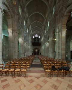 Autun, Saint Lazarus Cathedral Nave