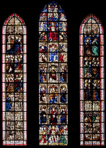 Coutances, Notre-Dame Cathedral  Last Judgment Window