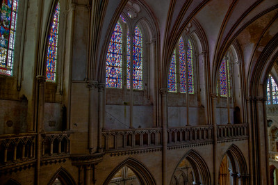 Coutances, Notre-Dame Cathedral Choir Clerestory