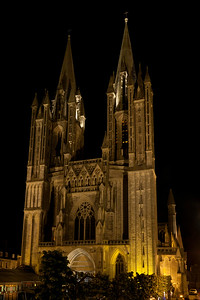 Coutances, Notre-Dame Cathedral West Facade