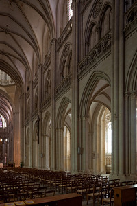 Coutances, Notre-Dame Cathedral Nave Elevation