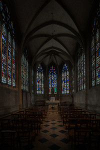 Evreux Cathedral Chapel of The Virgin