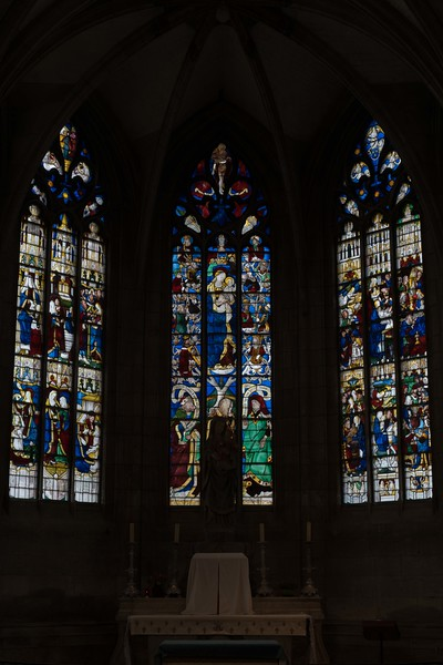 Evreux Cathedral, Chapel of The Virgin -Windows