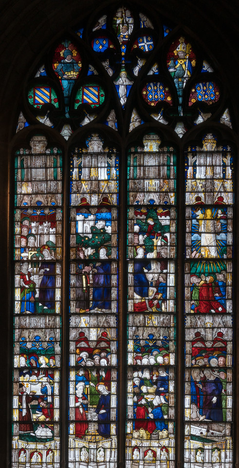 Evreux Cathedral, Axial Chapel - Scenes from the Adult Life of Christ