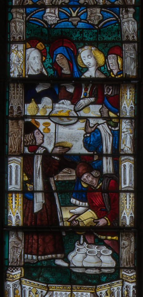 Evreux Cathedral, Axial Chapel - Scenes from the Adult Life of Christ, The Wedding at Cana