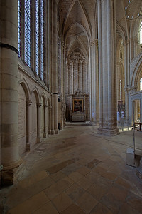 Meaux, Saint-Etienne Cathedral Aisle
