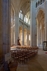 Meaux, Saint-Etienne Cathedral Nave Arches and the Crossing