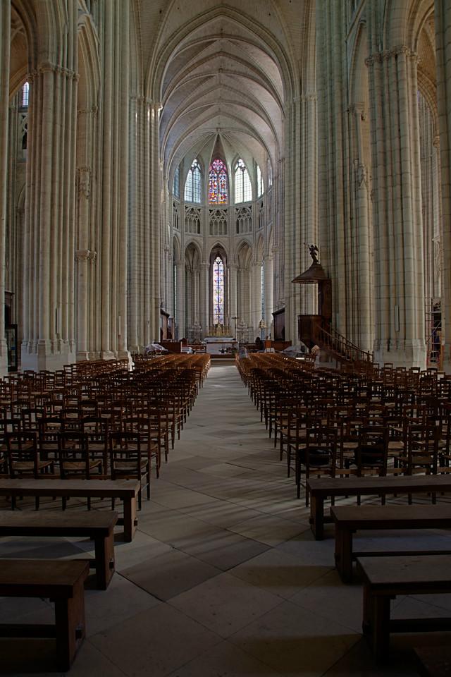 Meaux, Saint-Etienne Cathedral Nave Choir