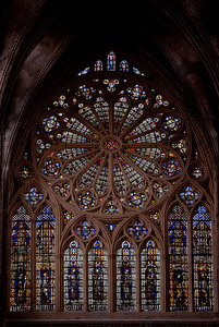 Metz Cathedral of Saint Stephen West Rose Window