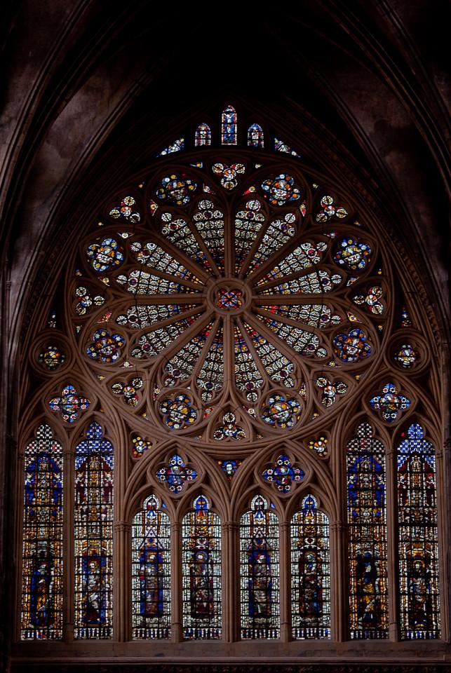 Metz Cathedral of Saint Stephen West Rose Window