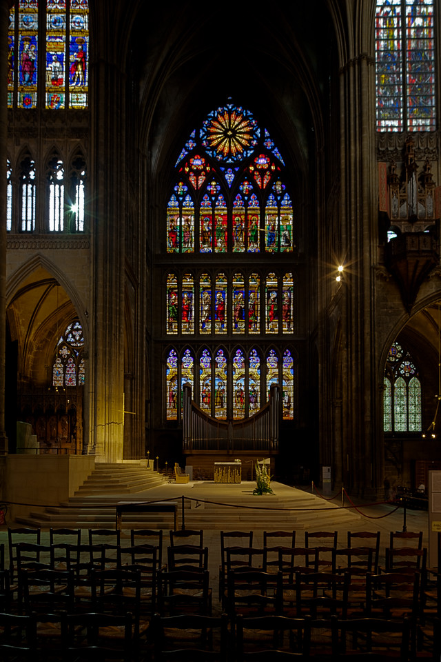Metz Cathedral of Saint Stephen South Transept Windows