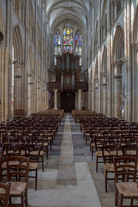 Eu, Collégiale Notre-Dame and Saint-Lawrence Nave and Organ