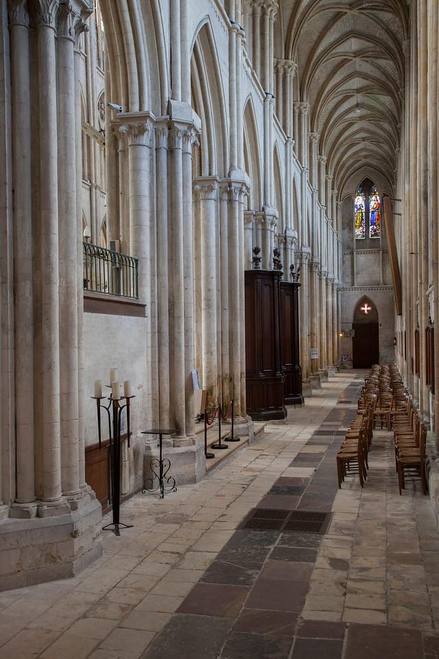 Normandy, Eu Eglise Notre-Dame and Saint-Lawrence North Aisle