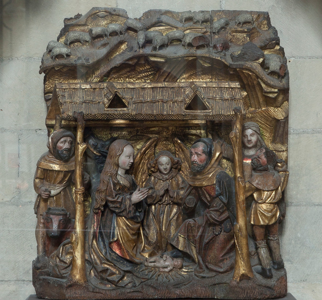 Normandy, Eu Collegial  Notre-Dame and Saint-Lawrence Nativity