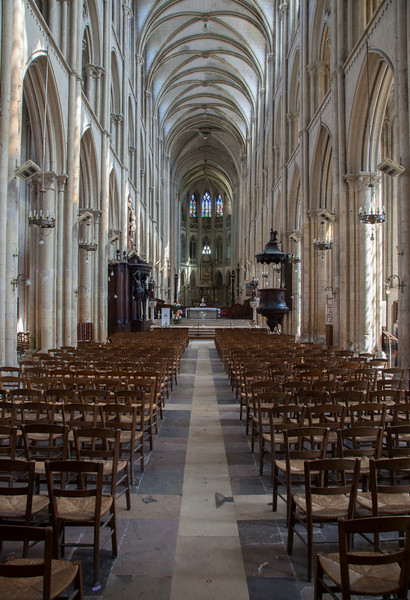 Eu, Collégial Notre-Dame and Saint-Laurent  Nave and Choir