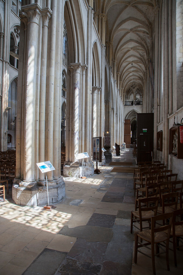 Normandy, Eu Collegial  Notre-Dame and Saint-Lawrence South Aisle