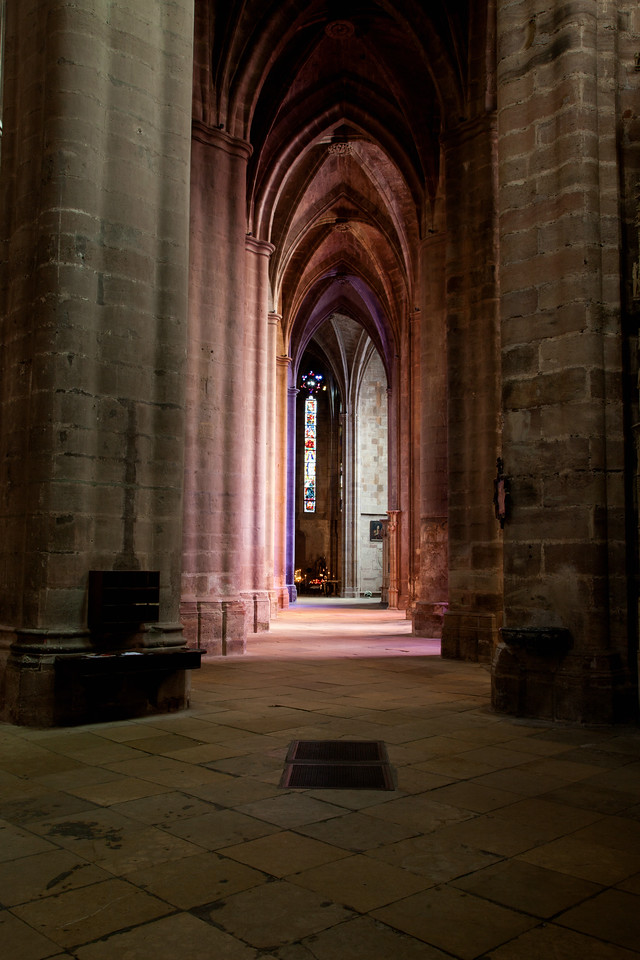 Rodez, Notre-Dame Cathedral Aisle