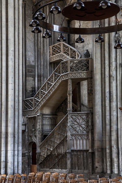 Rouen, Notre-Dame Cathedral Staircase