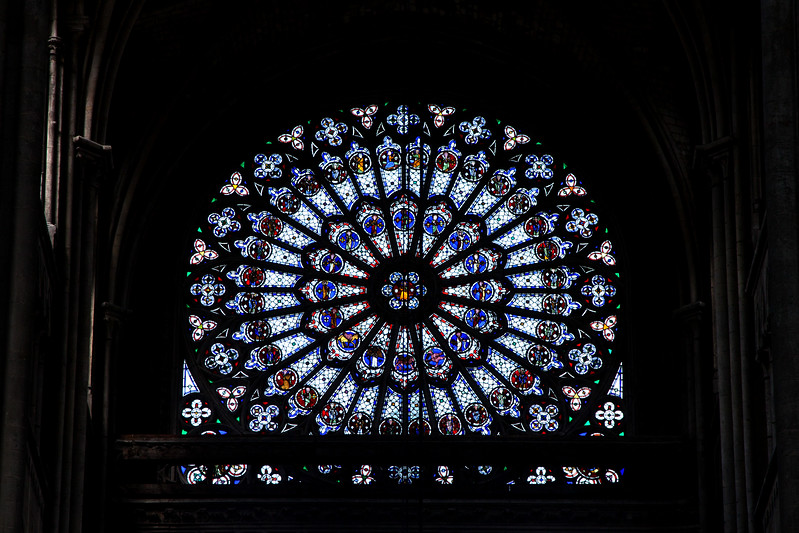 Rouen, Notre-Dame Cathedral North Rose Window