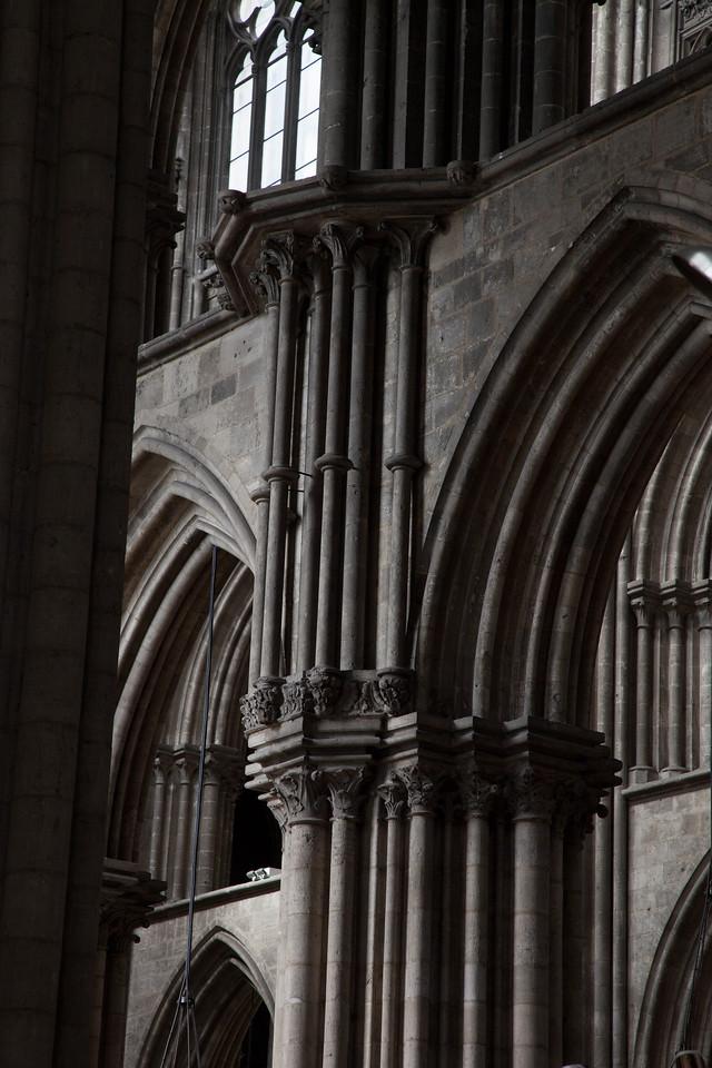 Rouen, Notre-Dame Cathedral Colonettes