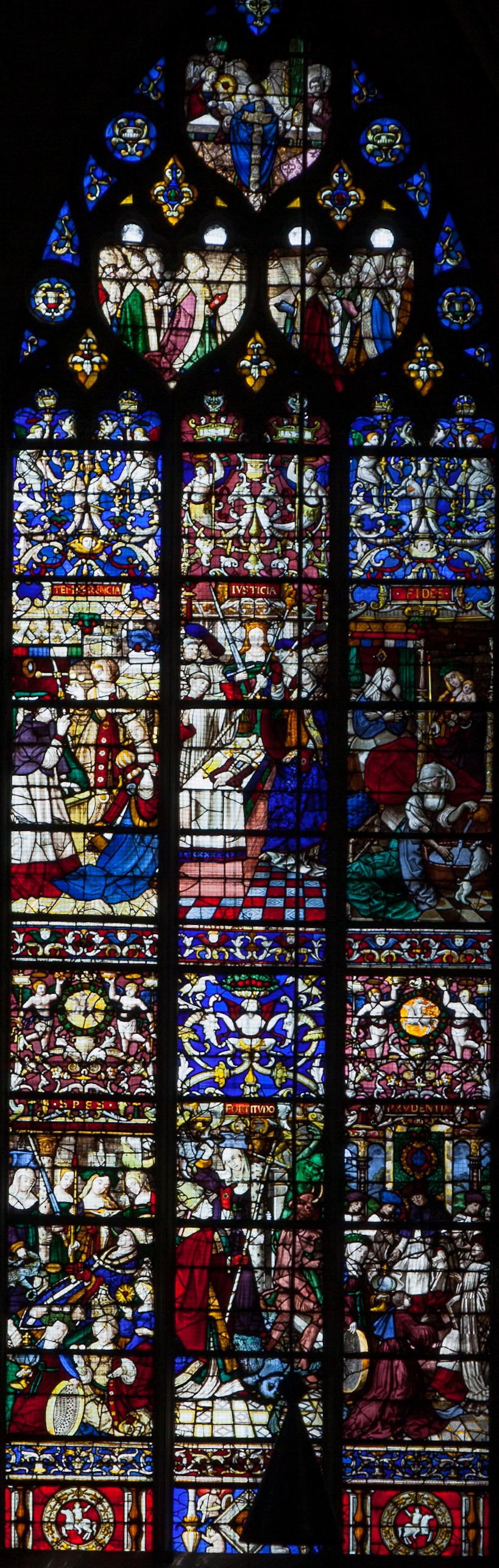 Rouen, Notre-Dame Cathedral, The Saint-Roman Window
