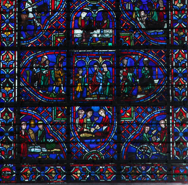 Rouen, Notre-Dame Cathedral, The Julian the Hospitaller Window