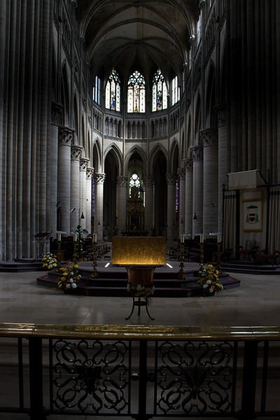 Rouen, Notre-Dame Cathedral Choir