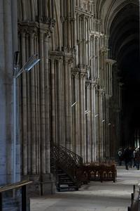 Rouen, Notre-Dame Cathedral Aisle Colonettes