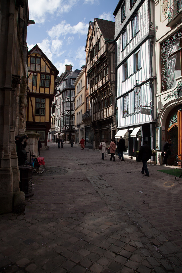 Rouen Street Scene