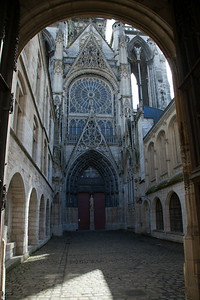 Rouen, Notre-Dame Cathedral North Transept Facade