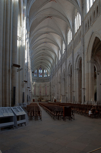 Vienne, Saint-Maurice Cathedral Nave and Choir