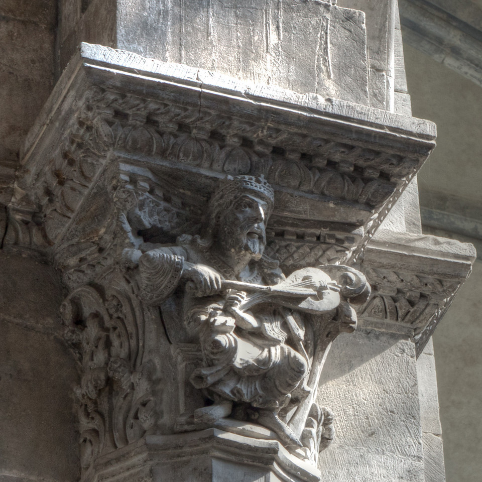 Vienne, Saint-Maurice Cathedral King David
