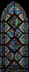 Caen Abbaye-aux-Hommes - The Flight into Eygypt (19C)