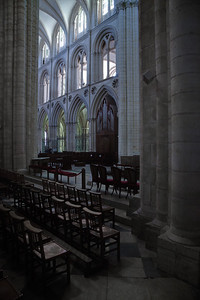 Caen Abbaye-aux-Hommes - Nave Elevation
