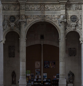 Gisors, Saint-Gervais-Saint-Protais Church Entrance