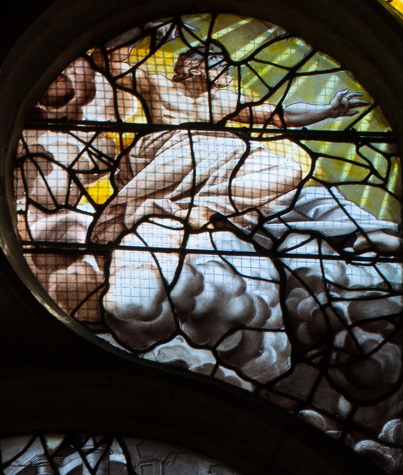 Gisors, Saint-Gervais-Saint-Protais Church, The Creation of Adam