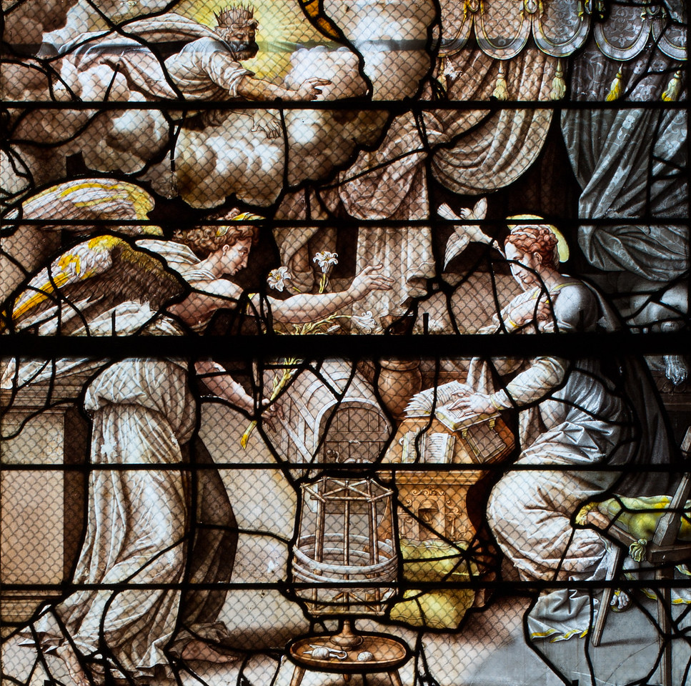 Gisors, Saint-Gervais-Saint-Protais Church, The Annunciation
