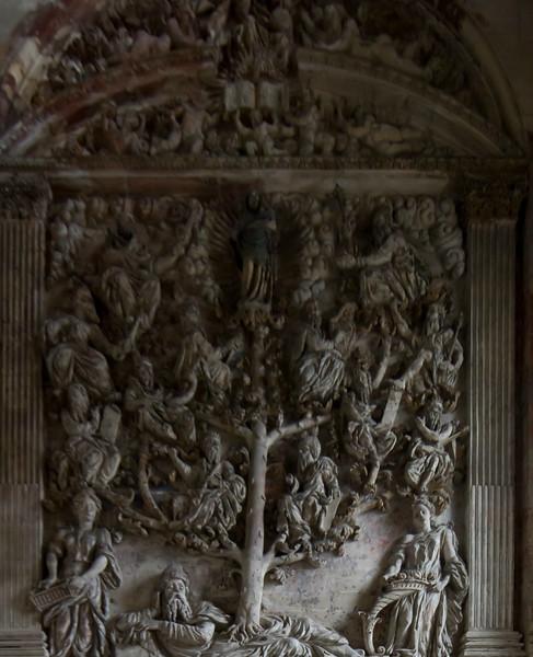 Gisors, Saint-Gervais-Saint-Protais Church, The Tree of Jesse