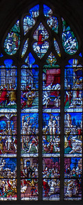 Gisors, Saint-Gervais-Saint-Protais Church, The Saint Crepin and Saint Crepinen Window