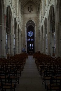 Gisors, Saint-Gervais-Saint-Protais Church Nave and Choir