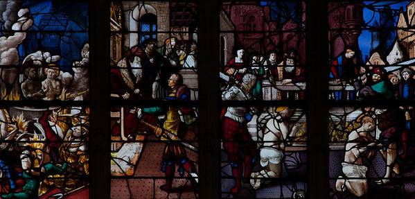 Gisors, Saint-Gervais-Saint-Protais Church, The Martyrdom of Saint Crepin and Saint Crepinen