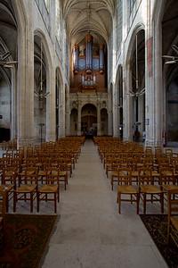 Gisors, Saint-Gervais-Saint-Protais Church Nave